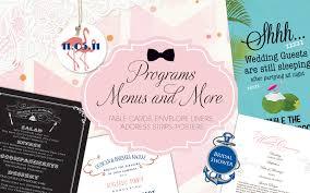 Custom Wedding Programs Custom Wedding Programs Cincinnati By Design Cincinnati By Design