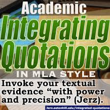 Quoting Poetry within a Paper using MLA Documentation  MLA