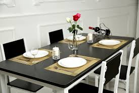 Dining Room Placemats | amazon com sicohome placemats pvc placemats for dining table heat