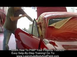 How To Spray Paint Your Car - how to paint your car yourself video 3 of 3 custom painting