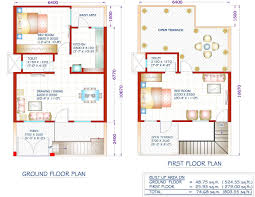 fashionable 5 800 square feet duplex house plans 1200 sq ft indian