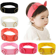 cheap headbands 2017 fashion kids animal headbands korean cat ear