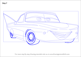 step step draw flo cars 3 drawingtutorials101