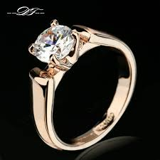 buy rings silver images Double fair 1 25 carat round cut cubic zircon engagement rings jpg