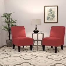 ballard fabric chair 2 pack red member only item