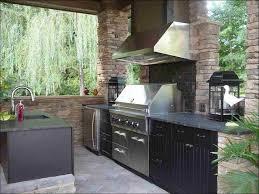 Outdoor Kitchen Storage Cabinets - kitchen stone outdoor kitchen backyard bbq smokers barbecue
