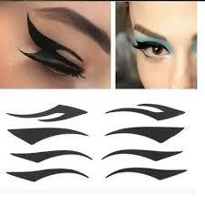 4 pair temporary instant timeless cat eye eyeliner transfer