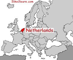 netherland map europe netherlands gif