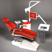 Medical Armchair Medical Armchair Dental 3d Obj