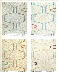 vintage vinyl flooring patterns 1960 s