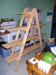 Leaning Shelves Woodworking Plans by Diy Ladder Shelf Shelves Tutorials And Mountains
