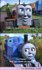 Thomas The Tank Engine Meme - thomas the train on bitchy days funny pinterest memes