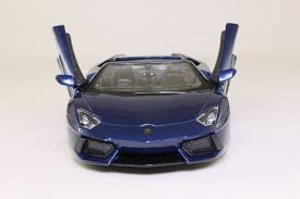 lamborghini aventador blue maisto 1 24 lamborghini aventador lp700 4 roadster met blue
