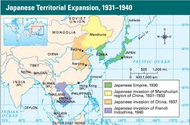 Map Of China And Japan by Wwii Mcgregor U0027s Social Studies