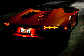 lamborghini aventador headlights in the dark lamborghini ultra auto sound