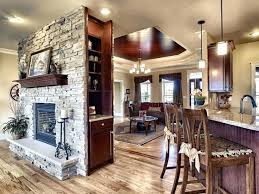 Traditional Double Sided Kitchen 17 Best Double Sided Fireplaces Images On Pinterest Island