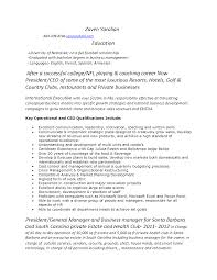 Best College Resume Best College Golf Coaching Resume Pictures Sample Resumes