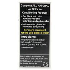 light mountain natural hair color black light mountain black henna hair color conditioner 4 oz frontier
