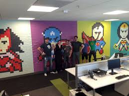 installer post it sur bureau worker uses 8 024 post it notes to turn boring office walls into