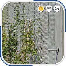 x tend inox wire net as plant climbing trellis net buy