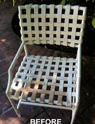 Repair Webbing On Patio Chair Patio Pool Outdoor Furniture Vinyl Strapping Webbing Replacements