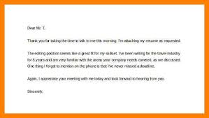 Subject Line For Resume Email Post Phone Interview Thank You Email Sample A2cabs Leadwire Co