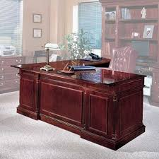 L Shaped Executive Desk Three Posts Flannagan L Shape Left Return Executive Desk Reviews
