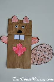 simple and fun ways to celebrate canada day paper bag puppets