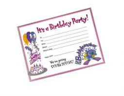 Birthday Invitation Card Maker Make A E Card Girls Party Invitations