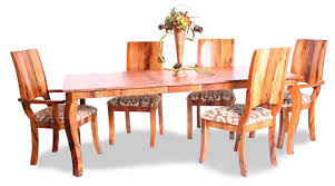Aarons Dining Room Sets by Custom Made Turquoise Inlay Mesquite Dining Table By Aaron Smith