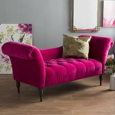Pink Chaise Lounge Willa Arlo Interiors Dominique Chaise Lounge Reviews Wayfair