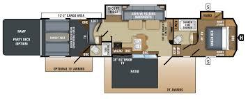 Toy Factory Lofts Floor Plans by 2018 Seismic Toy Hauler Floorplans U0026 Prices Jayco Inc