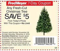 fred meyer yet another good deal 7ft fresh cut noble christmas