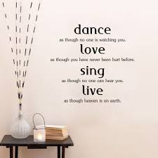 compare prices on dance wall mural online shopping buy low price dance love sing live vinyl wall decals home decor living room bedroom diy mural removable wall