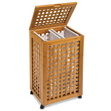 Square Laundry Hamper by Articles With Bamboo Clothes Hamper With Lid Tag Laundry Hamper