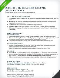 Resume Objective For Preschool Teacher Sample Resume Objectives For Teachers Teacher Resume Objective