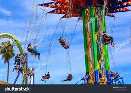 Six Flags Valejo Vallejo California June 14th 2016 Sky Stock Photo 437467612