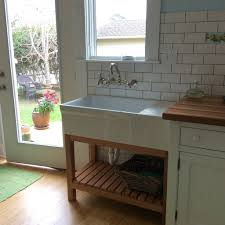 Free Standing Sink Kitchen Free Standing Kitchen Sink Sink Ideas
