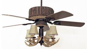 Lodge Ceiling Fans With Lights Cabin Style Ceiling Fans With Lighting Log Voicesofimani