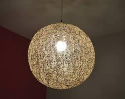 Modern Sphere Chandelier Globe Pendant Light Etsy
