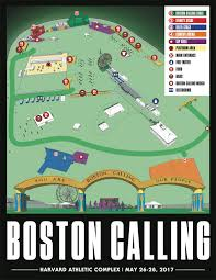 Map Room Boston by The Boston Calling 2017 Layout Has Been Revealed