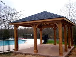 Patio Cover Plans Free Standing by Pictures On Wooden Patio Roof Free Home Designs Photos Ideas