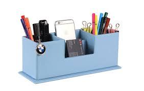 rangement stylo bureau de bureau polyvalent organisateur boîte bureau accessoires