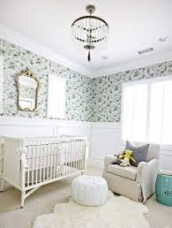 papier peint chambre bebe fille chambre enfant nursery fille papier peint motifs lustre
