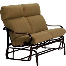 Outdoor Glider Loveseat Steps To Refinish An Old Metal Outdoor Glider Front Yard