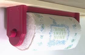 under cabinet paper towel holder u2014 flapjack design