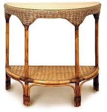 Rattan Console Table Magnificent 40 Rattan Console Table Inspiration Of Wicker Console
