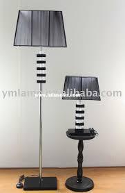 Floor Lamp With Crystals Floor Lamp With Table Modern Deco Brass Table U0026 Floor Lamp