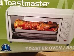 Proctor Silex Toaster Oven Broiler New Toastmaster 4 Slice Toaster Oven Broiler Tov320 New In