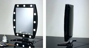 professional makeup lighting portable professional makeup mirror with lights black lighted